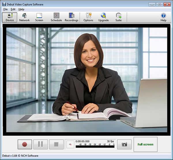 Programa para gravar vídeo