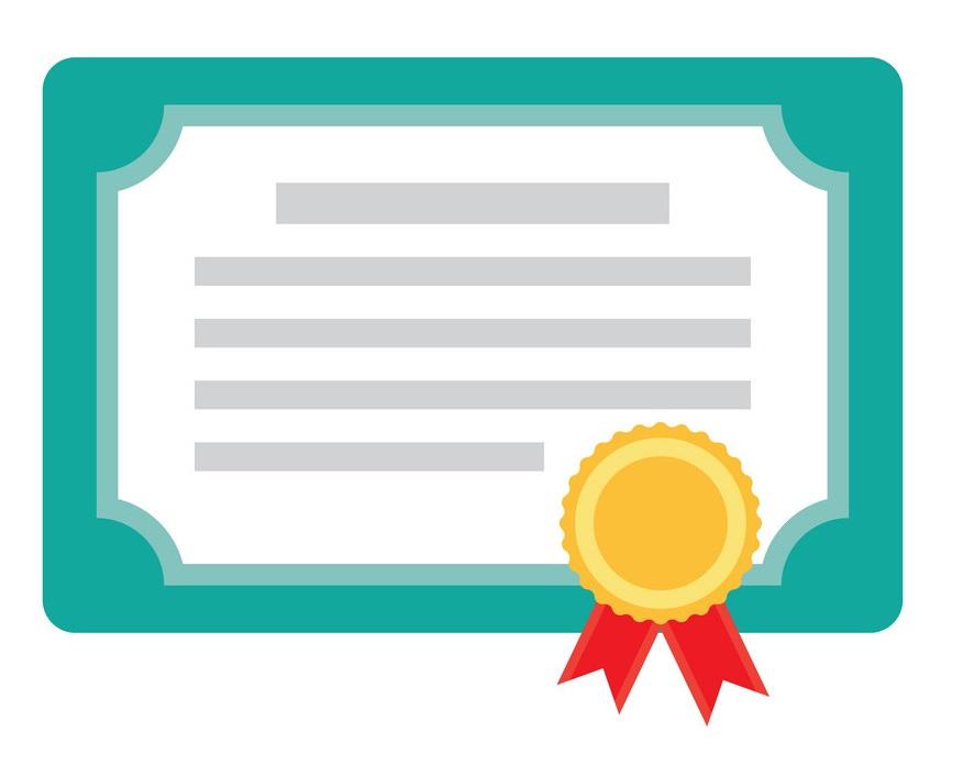 certificado de cursos livres - plataforma EAD
