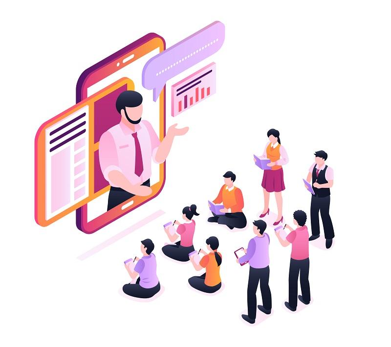 Plataforma para cursos corporativos